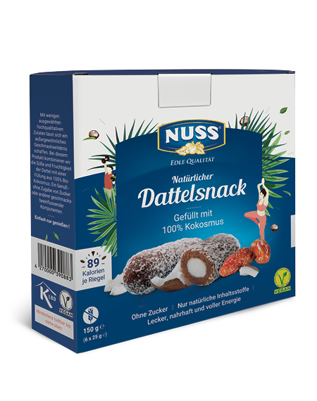 Date Snack with Coconut