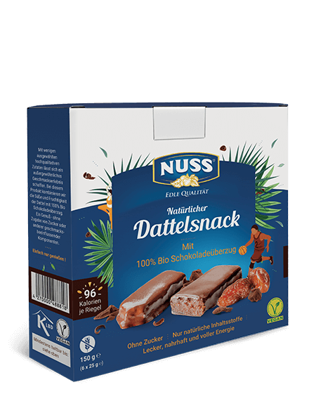Date Snack with Chocolate